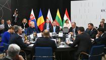 Klaus Iohannis, la Summitul B9