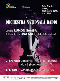 Concert Brahms/ Elgar cu dirijorul Rumon Gamba