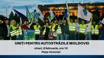 Menifest pentru autostrazi in Moldova