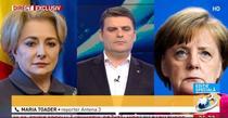 Cum a sunat-o Merkel pe Dancila