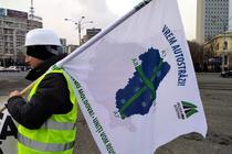 Protest - autostrazi pentru Moldova