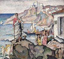Ion Theodorescu-Sion, Poetul Ovidiu la malul marii
