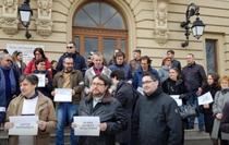 protest Universitatea Cuza