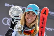 Mikaela Shiffrin, al saselea glob de cristal la slalom