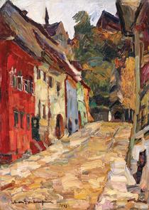 Rudolf S.-Cumpana, Scara școlarilor din Sighișoara