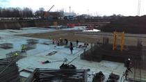 Lucrari de constructie la stadionul Steaua