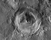 Marte crater