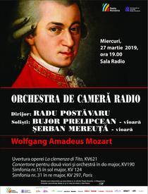 Concert Mozart la Sala Radio