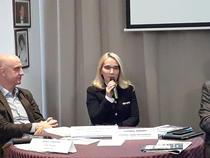 Ramona Bruynseels la conferinta de vineri