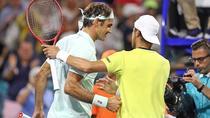 Roger Federer si Radu Albot