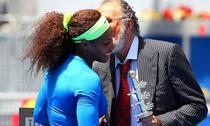 Serena Williams si Ion Tiriac