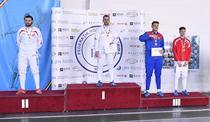 Tiberiu Dolniceanu, pe cea mai inalta treapta a podiumului