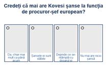 Sondaj - Șansele lui Kovesi