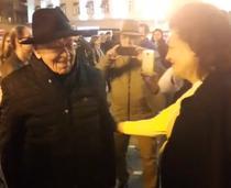 Mihai Sora, la protest in Timisoara
