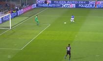 Donnaruma, gafa in meciul cu Sampdoria