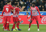 Atletico Madrid, victorie cu Alaves