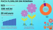 Firmele din comerţul cu ridicata al florilor