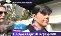 Kovesi, la audieri la Secția specială