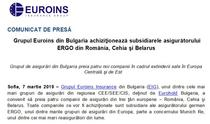 Anuntul oficial al Euroins
