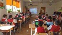 Şcoala din Popeşti Leordeni