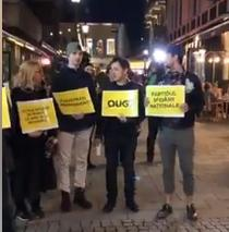 protest actori Teatrul de Comedie