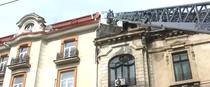 Incendiu bulevardul Mihail Kogalniceanu