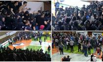 Incidente la meciul de handbal Steaua vs Dinamo