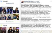 Alexandru Petrescu pe Facebook