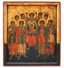 Soborul Sfintilor Arhangheli, Tara Romaneasca, a doua jumatate a sec. XVIII, piesa foarte rara