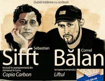 Cornel Balan si Sebastian Sifft, afis eveniment
