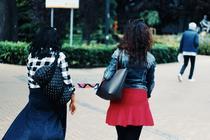 Femei pe strada