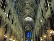 Interiorul Notre Dame