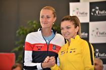 Kristina Mladenovic si Simona Halep