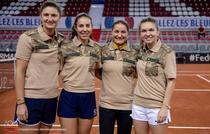 Jucatoarele din echipa de FedCup a Romaniei