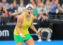 Ashleigh Barty si bucuria calificarii in finala FedCup
