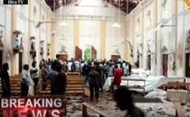 Explozii in biserica