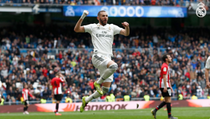 Karim Benzema, hat-trick in partida cu Athletic Bilbao