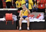 Simona Halep, dezamagita dupa infrangerea contra Frantei