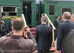 Kim Jong Un si trenul sau