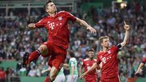 Robert Lewandovski, decisiv pentru Bayern