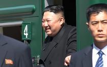 Kim Jong Un plecand din Rusia