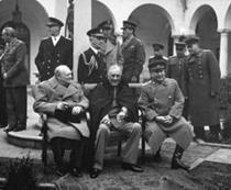 Churchill, Roosevelt si Stalin