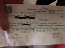 Invitatie Politia Locala