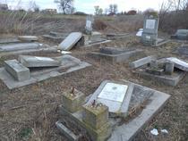 Cimitirul Evreiesc din Husi, vandalizat