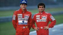 Ayrton Senna si Alain Prost