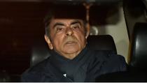 Carlos Ghosn plecand de la o intalnire cu avocatii sai, inainte de a fi re-arestat