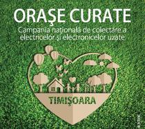 """""""Orașe Curate"""" ajunge în Timișoara"""