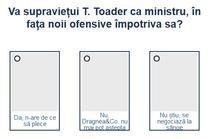 Sondaj ministrul Tudorel Toader