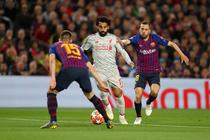 Salah in careul Barcelonei