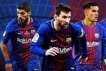 Messi Suarez Coutinho